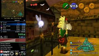 Ocarina of Time 100% Speedrun in 3:57:38 (With Chat)