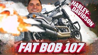 Вот это я понимаю ХАРЛЕЙ! Harley Davidson FAT BOB 2020