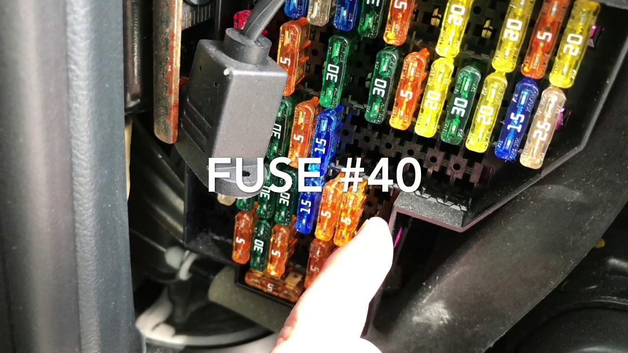 hight resolution of porsche gateway control unit module fuse 40 reset