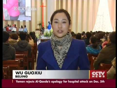 Protestantism growing rapidly in China