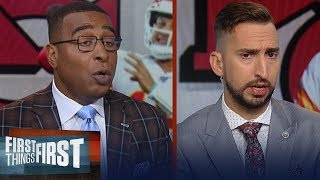 Nick and Cris discuss keys for Chiefs vs Lions & Patriots injuries   NFL   FIRST THINGS FIRST