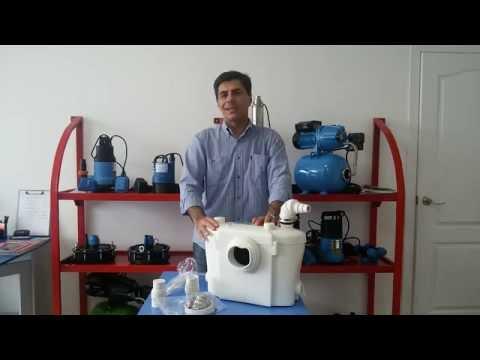 Смотреть видео ► Канализационная насосная станция Unipump Sanivort 600