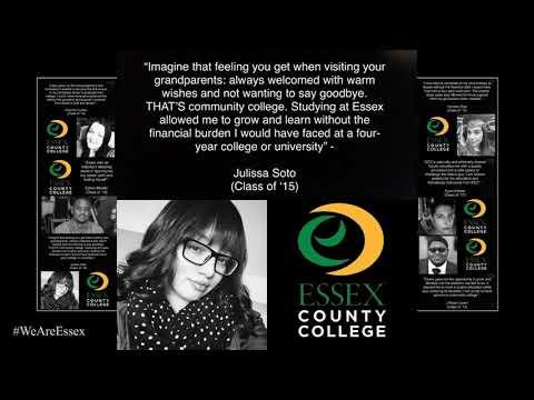 Essex County College Graduate Testimonials 2020 Julissa Soto