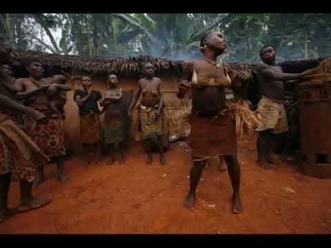 African Bayaka Pygmies Music Part 1