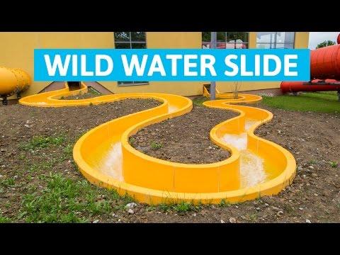 Aquapark Olešná - Wild River    Extreme current water slide!