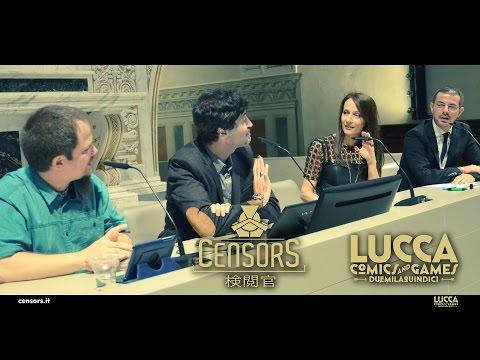 CENSORS segreti e backstage SENZA CENSURE a Lucca Comics & Games