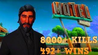 492+ WINS | 8000+ KILLS | VBUCKS GIVEAWAY @ 800 SUBS! | FORTNITE BATTLE ROYAL