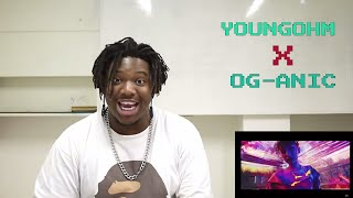 YOUNGOHM x OG-ANIC - คนที่เธอไม่เคยมอง (Prod. by NINO) | Reaction by The Black Kid