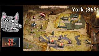 Age of Empires 2: DE Campaigns | Historical Battles | York (865)