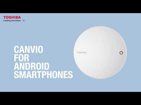 Toshiba's Canvio for Smartphone
