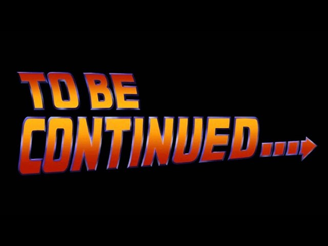 To Be Continued.....