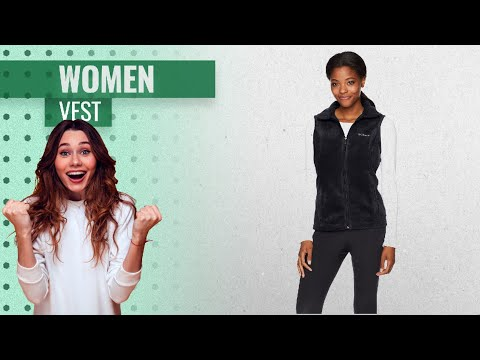 Columbia Women's Benton Springs Fleece Vest 2019 - Choose Your Color! | Hot Fashion Trends