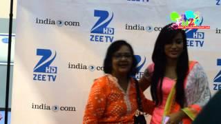 Surbhi Jyoti and Karanvir Bohra At Glorious Gujarat Held In New Jersey