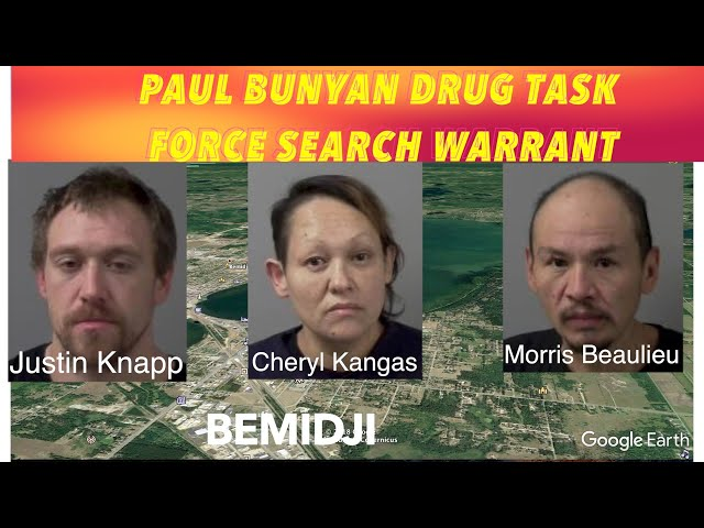Drug Task Force Search Warrant Nets 3 Charges In Bemidji