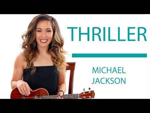 Thriller- Michael Jackson Ukulele Tutorial With Play Along