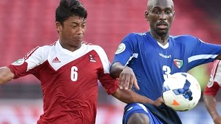 Nepal vs Kuwait: AFC U-16 Championship 2014