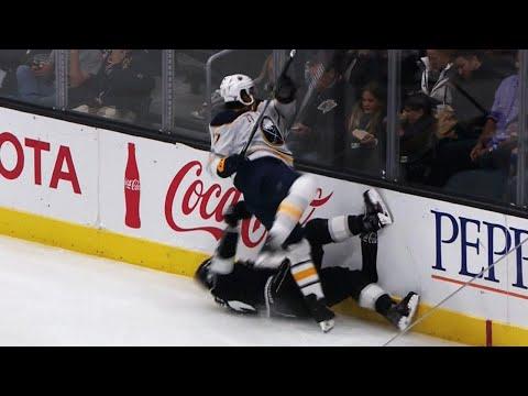 Gotta See It: Nolan flattens Martinez behind the net