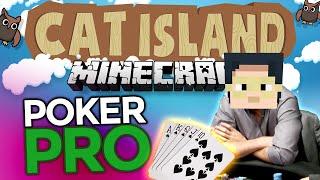 Minecraft: Cat Island #37 - Poker with Nilesy!