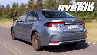 Toyota Corolla Hybrid - Test - Matías Antico - TN Autos