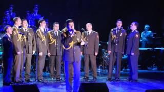 Red Army Choir ; MVD. Director and Conductor ; Gen Viktor ELISEEV in Ashdod- Israel. Jan. 2017