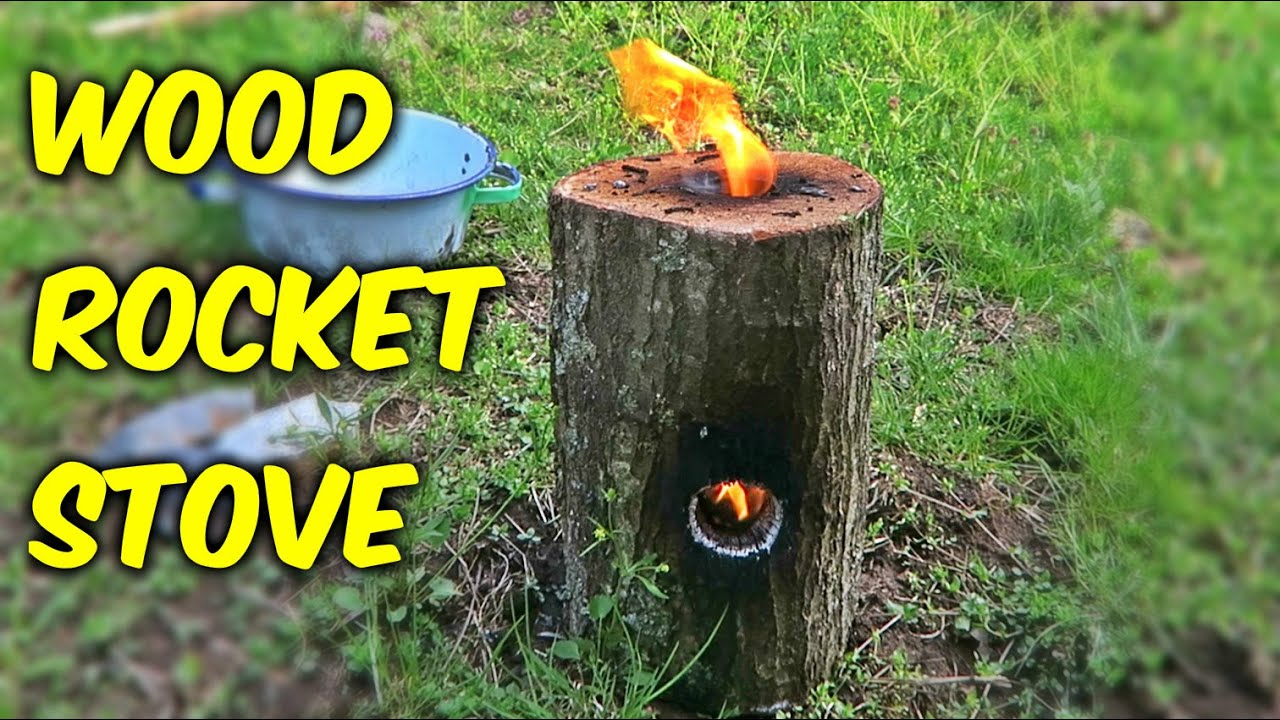 - How To Make A Wood Rocket Stove - YouTube