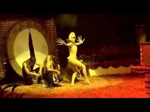 The circus Il Florilegio in Ghana by diziro power
