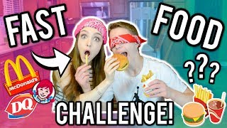 The Fast Food Challenge!!