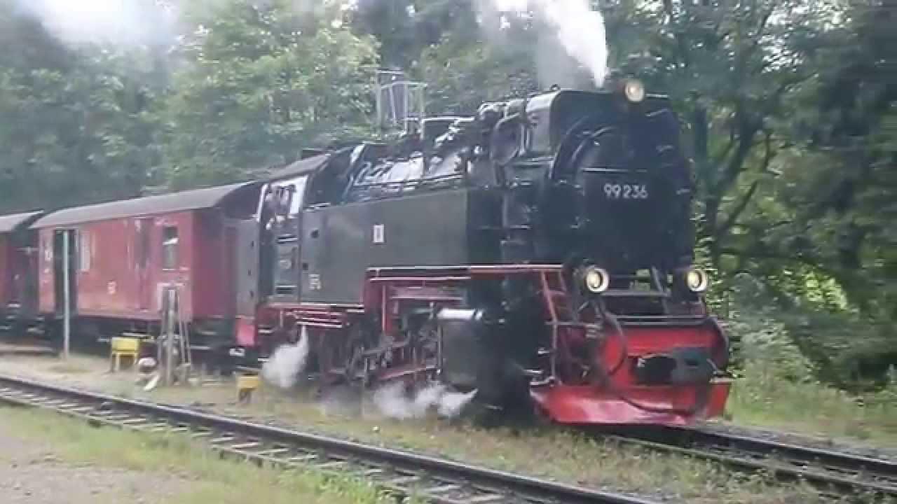 ハルツ狭軌鉄道 - YouTube