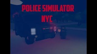 Roblox Police Simulator Officer Down!