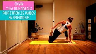 Yoga pour étirer les jambes en profondeur 🦵🙏