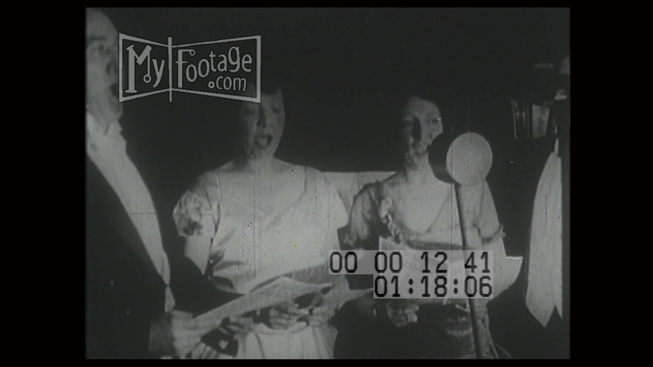 1920s Radio Broadcasting Youtube