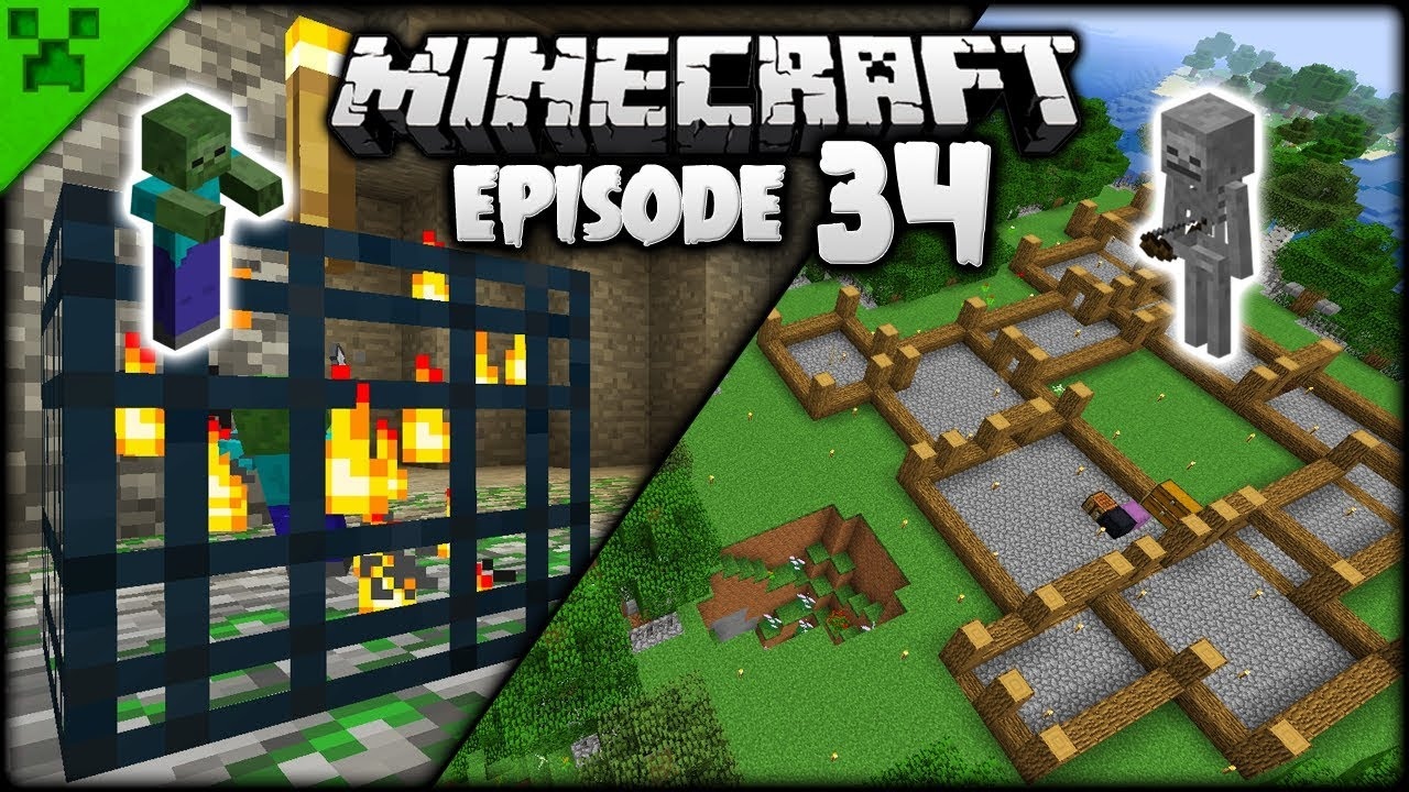 Spawners Minecraft Mansion Layout Pythons World Minecraft Survival Lets Play Episode 34
