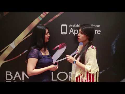 Audience Interview - Soucika at Bangalore Fashion Week