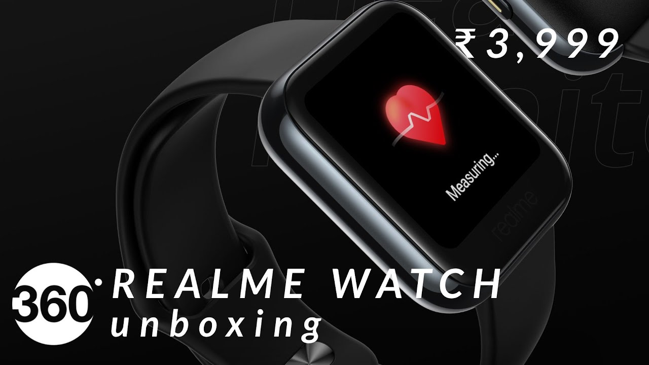 Realme Watch Unboxing: Affordable Smartwatch for Everyone? First Impressions - Gadgets 360