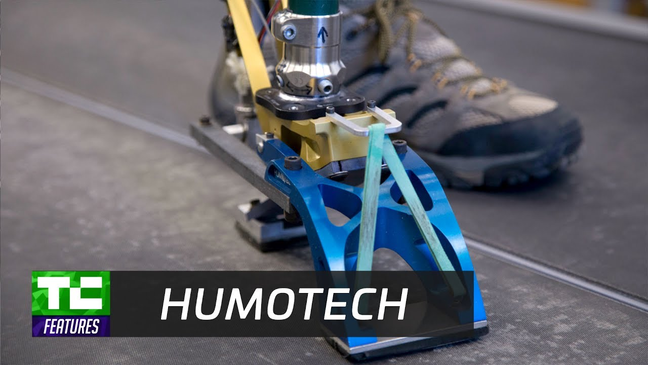 Humotech Uses Robotics To Fit Amputees With Prosthetic Feet Youtube