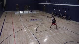 Piranhas Badminton Match tournoi ETS (Laval)