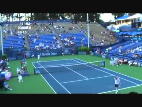 Stefan Edberg vs Jim Courier - Los Angeles 2009 (5 de 8)