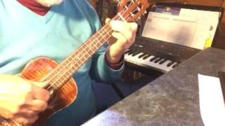 Walking My Baby Back Home -Solo ukulele- Arranged & played by Colin Tribe