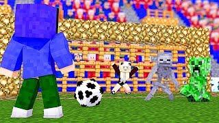 WIR SPIELEN FUßBALL IN DER MONSTER SCHULE!