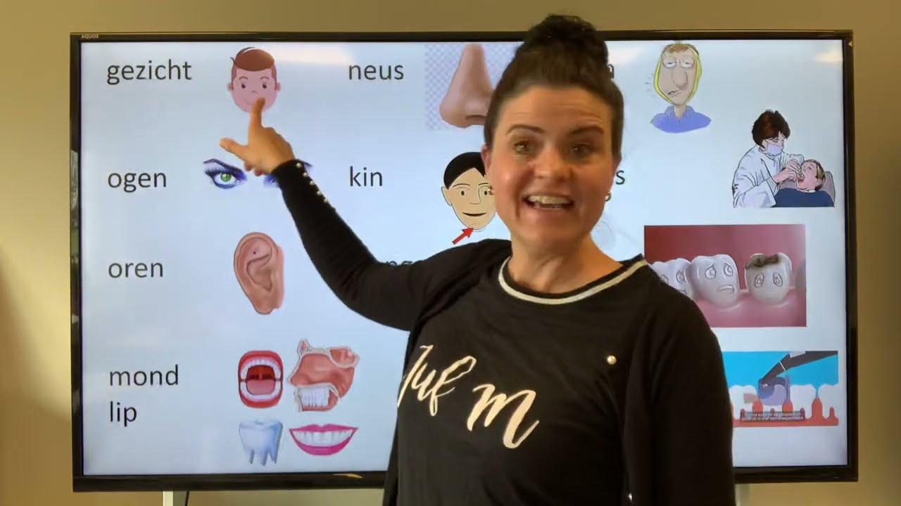 Download NT2 gezicht ogen oren mond wang kiespijn tandarts! Nederlands leren tc 5.3 5.14 #learndutch