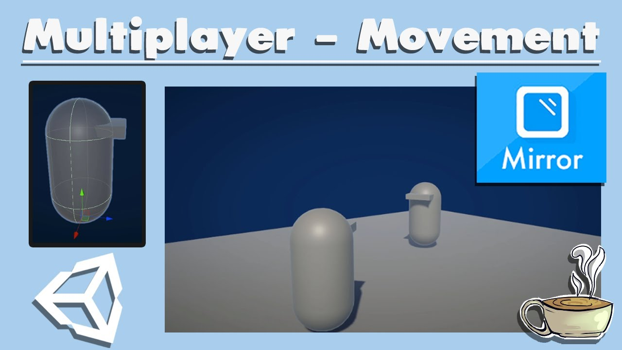 How To Make A Multiplayer Game In Unity - Player Movement