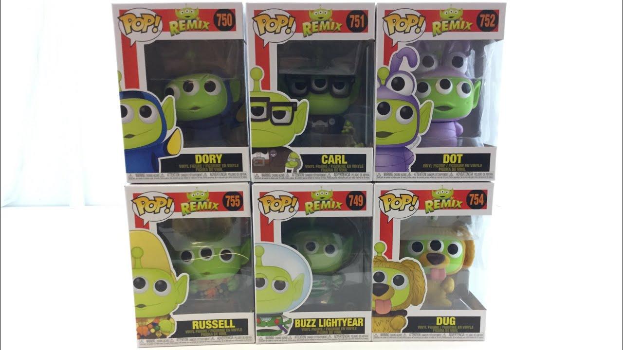 Alien Remix Buzz Pop Details about  /Pixar Vinyl