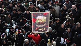 Похороны иранского генерала   АЗИЯ   06.01.20