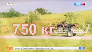 видео Прицепы для легковых автомобилей в Санкт-Петербургу