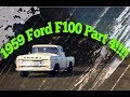 1959 Ford F100 Stored in the barn for 20 years!  Part 4!