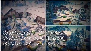 "Rainbow 6 Siege ""Chalet"" Remake on Fortnite Creative 