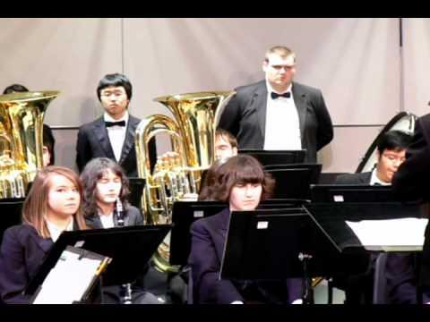 "Oak Harbor High School: Wind Ensemble: ""Irish Tune From County Derry"""