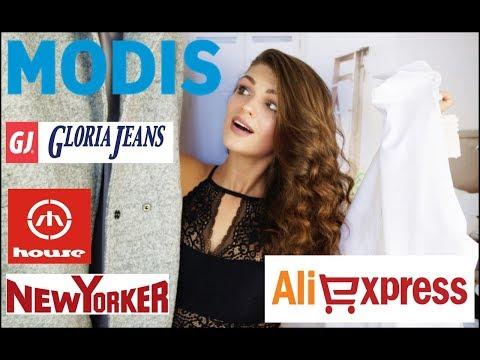 HAUL /Покупки одежды ОСЕНЬ  /Одежда с Aliexpress /Косметика /Gloria Jeans/MODIS/ New Yorker/HOUSE