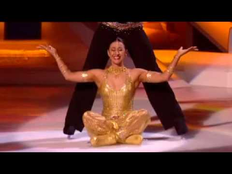 Dancing On Ice - Week 9 - Hayley Tamaddon & Daniel Whiston (Movie Week)