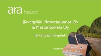 Järvenpään kaupunki ja Järvenpään Mestariasunnot Oy